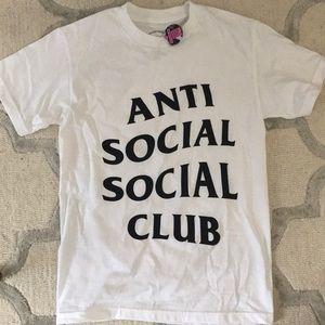 Anti social social club tee tshirt. Authentic 100%